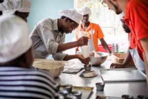 Bakkerij in Oeganda