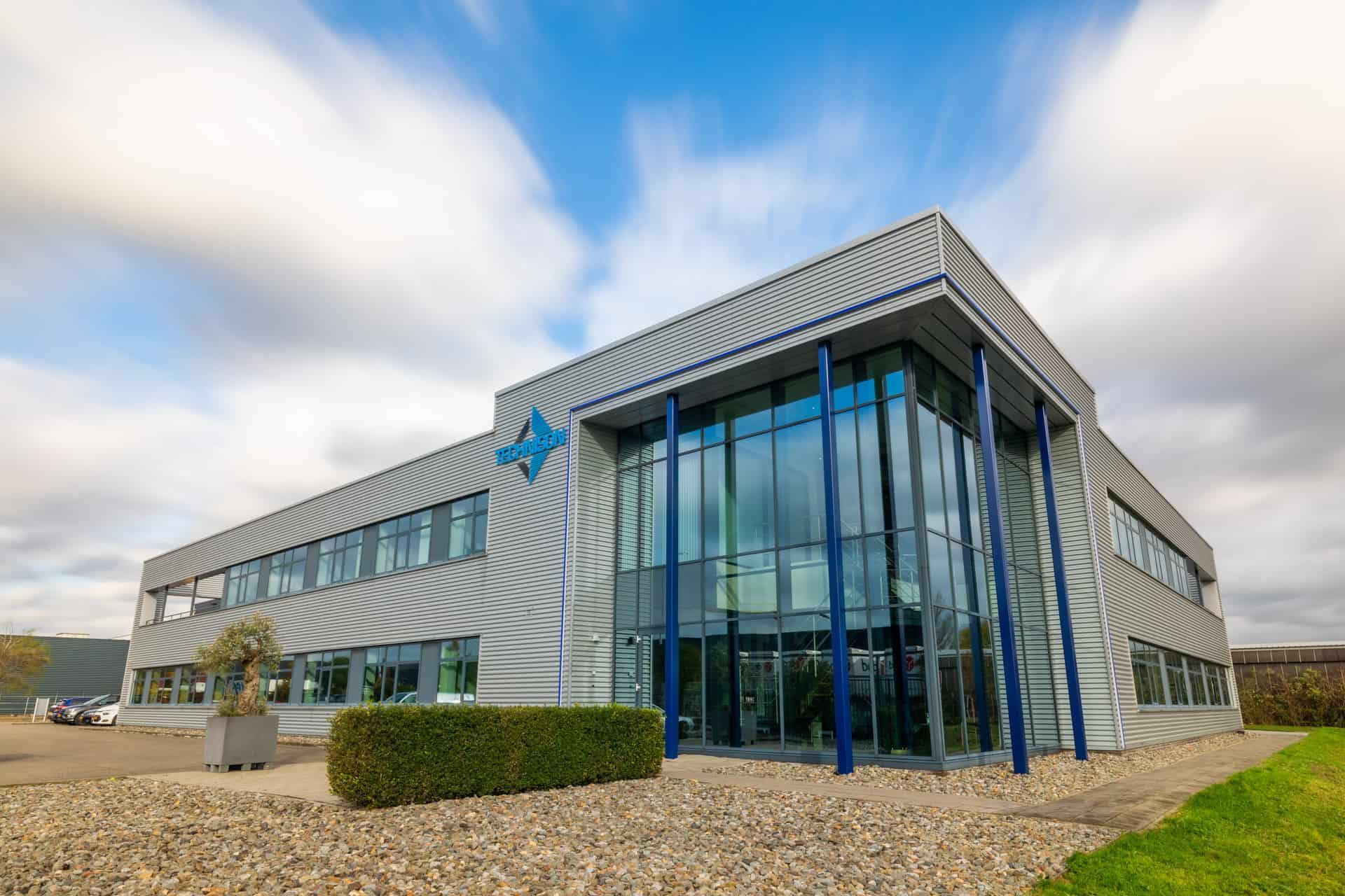 bedrijfs gebouw foto