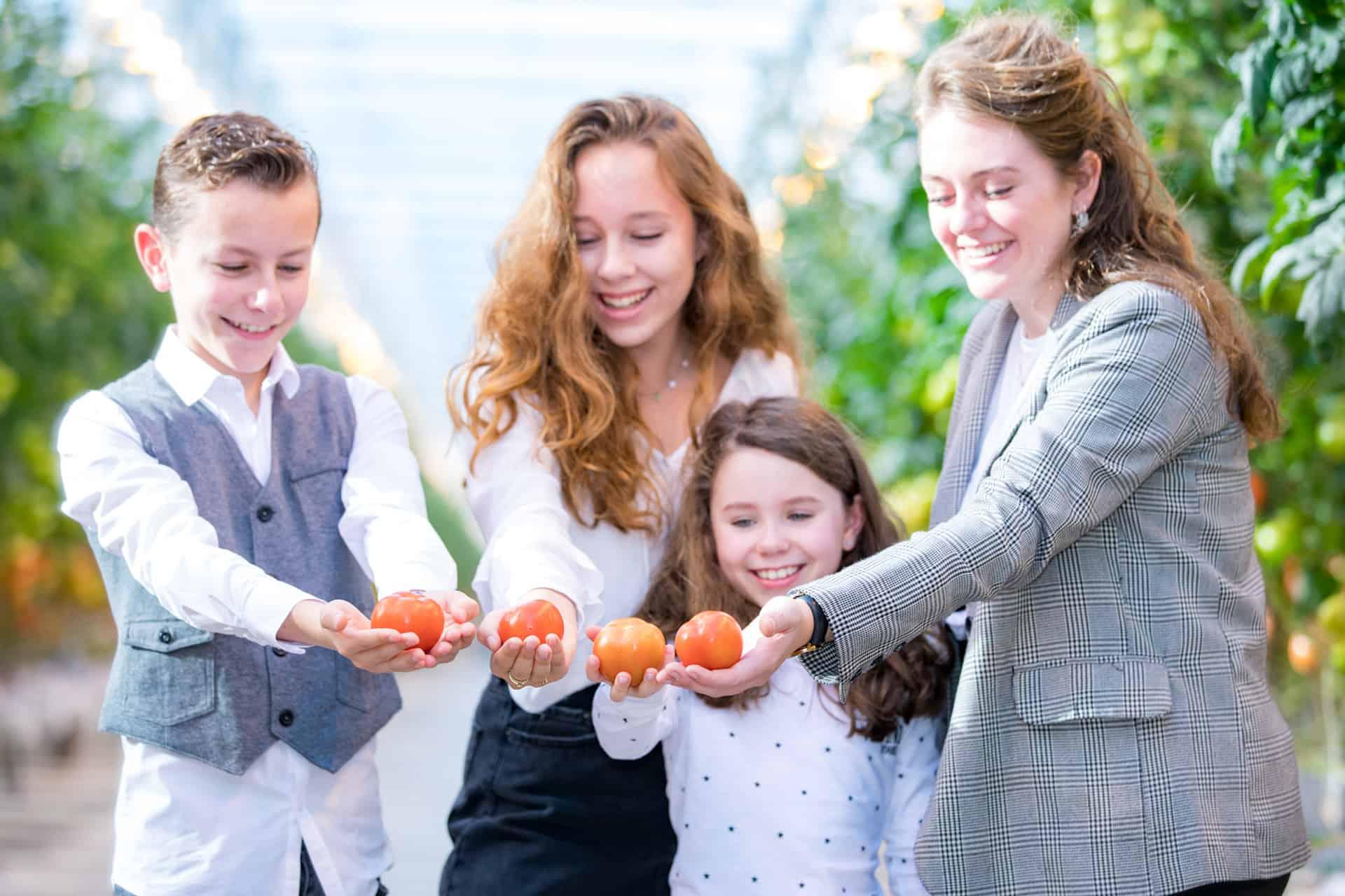 gezin foto in kas.